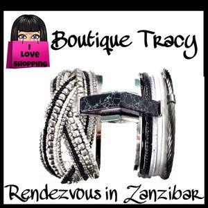 Rendezvous in Zanzibar Bracelet Stack OOAK